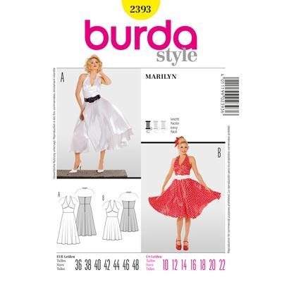 Marilyn, Burda 2393 | 36 - 48