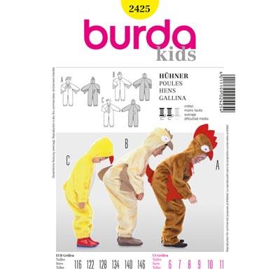 Hühner, Burda 2425 | 116 - 146