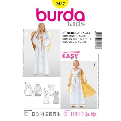 Römerin | Engel, Burda 2437 | 128 - 164