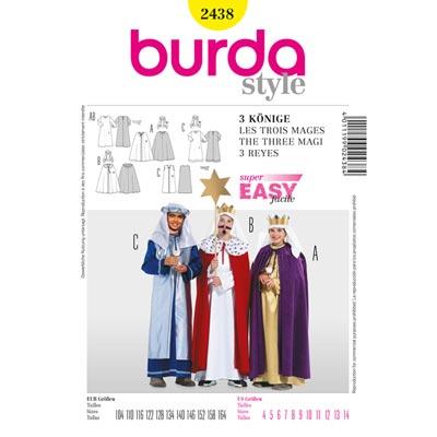 Drei Könige, Burda 2438 | 104 - 164