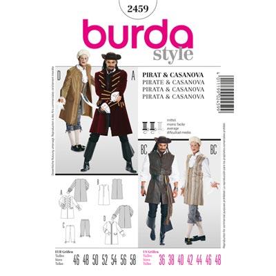 Pirat | Casanova, Burda 2459 | 46 - 58