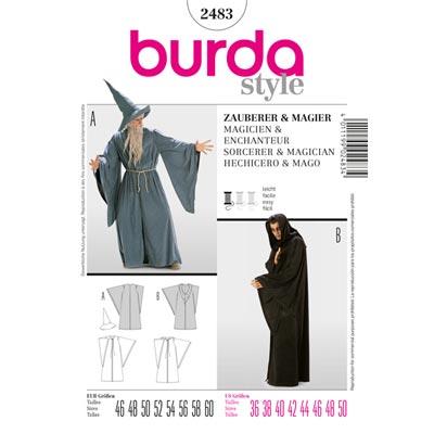 Zauberer | Magier, Burda 2483 | 46 - 60