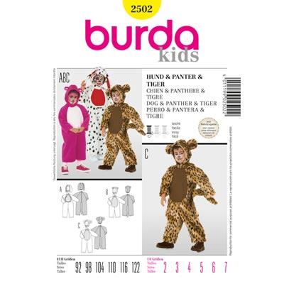 Overall, Burda 2502 | 92 - 122