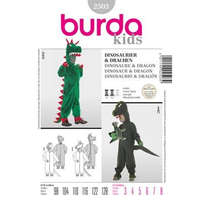Overall, Burda 2503 | 98 - 128