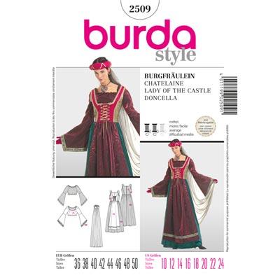 Burgfräulein, Burda 2509 | 36 - 50