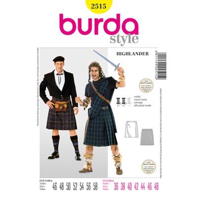 Highlander, Burda 2515 | 46 - 58