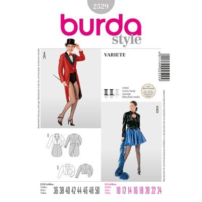 Varieté, Burda 2529 | 36 - 50