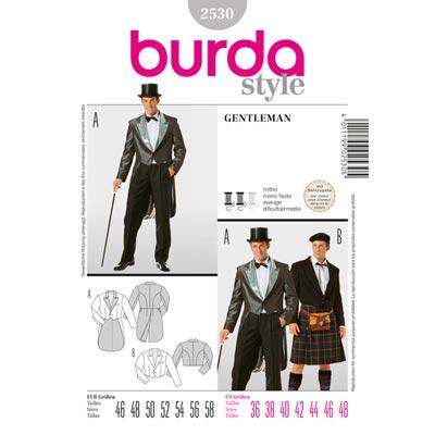 Gentleman, Burda 2530 | 46 - 58