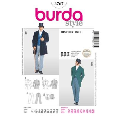 History 1848, Burda 2767 | 44 - 60