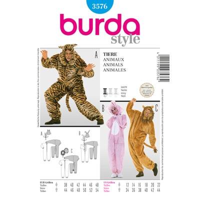 Overalls, Burda 3576 | 38 - 48