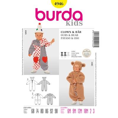 Overall, Burda 4946 | 68 - 98