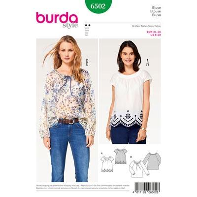 Bluse, Burda 6502 | 34 - 46