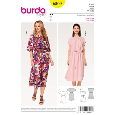 Kleid, Burda 6509 | 36 - 46