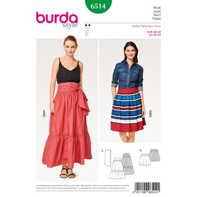 Rock, Burda 6514 | 36 - 46