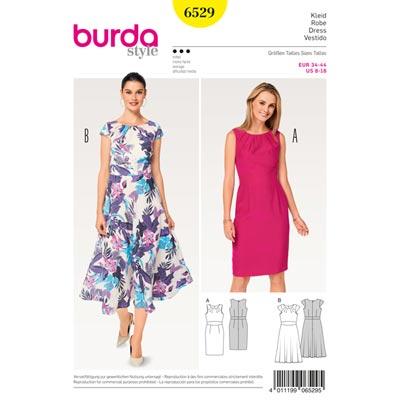 Kleid, Burda 6529 | 34 - 44