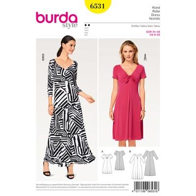 Kleid, Burda 6531 | 34 - 46