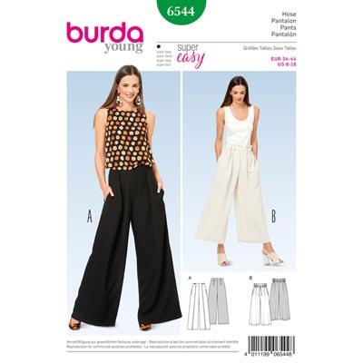 Hose, Burda 6544 | 34 - 44