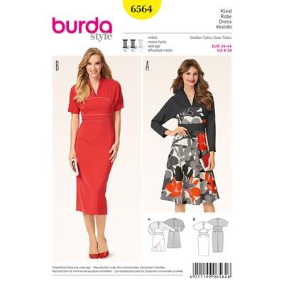 Kleid, Burda 6564