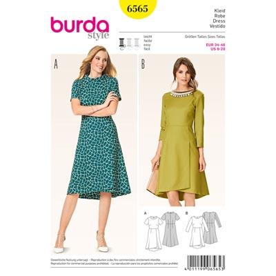 Kleid, Burda 6565 | 34 - 46