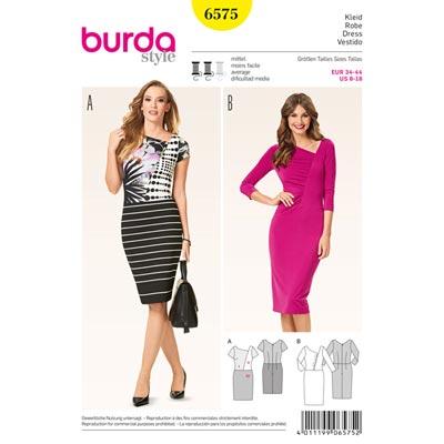 Kleider, Burda 6575 | 32 - 44