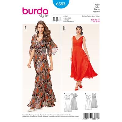 Kleid, Burda 6583 | 34 - 46