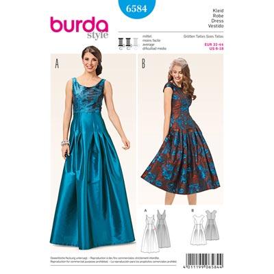 Kleid, Burda 6584