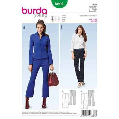 Hose, Burda 6601