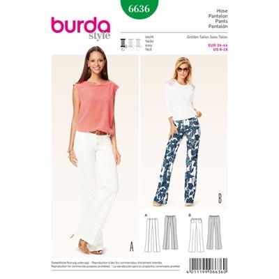 Hose, Burda 6636