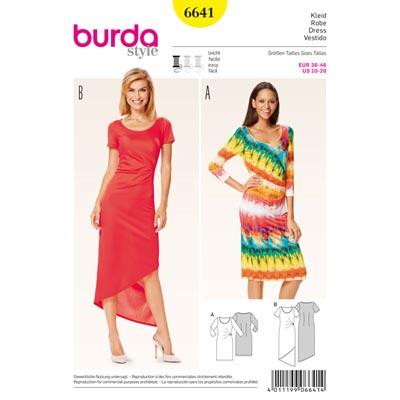 Kleid, Burda 6641 | 36 - 46