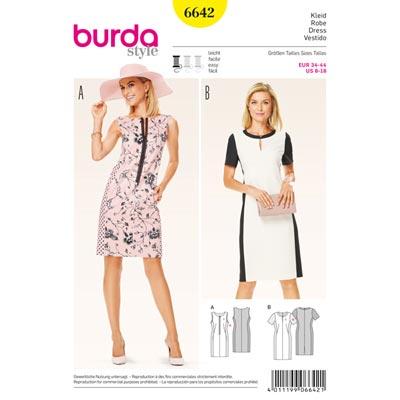 Kleid, Burda 6642 | 34 - 44