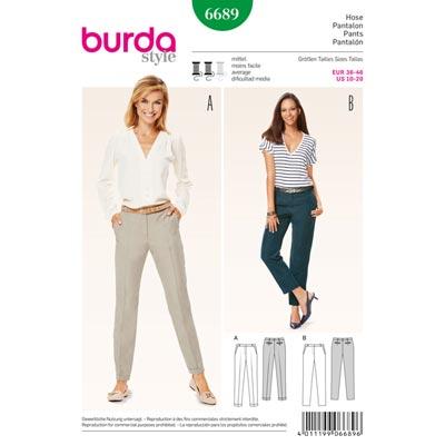 Hose, Burda 6689 | 36 - 46