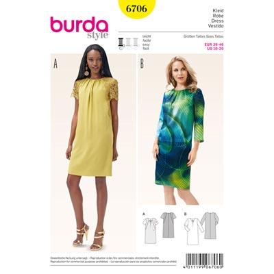 Kleid, Burda 6706
