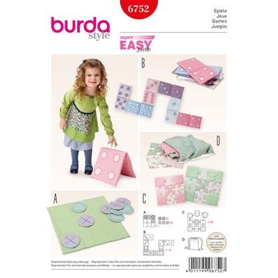 Spiele, Burda 6752