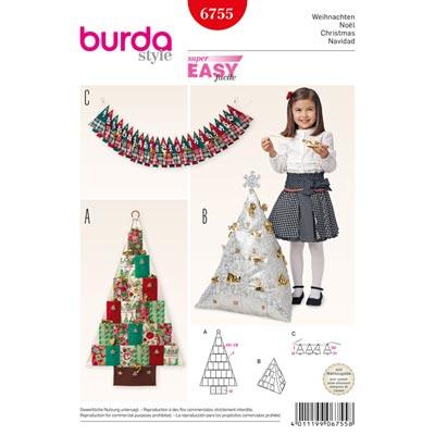Weihnachten, Burda 6755