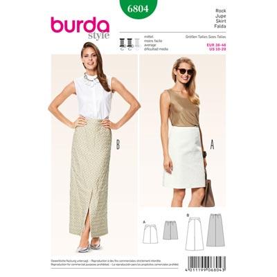 Rock, Burda 6804 | 36 - 46