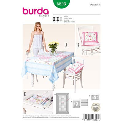 Patchwork, Burda 6823