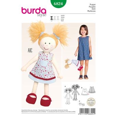 Puppe, Burda 6824