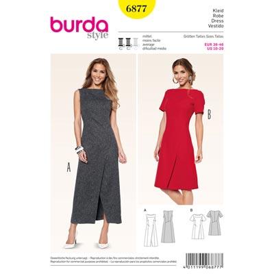 Kleid, Burda 6877 | 36 - 46