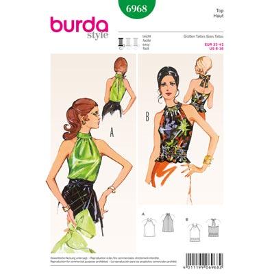 Vintage - Top, Burda 6968