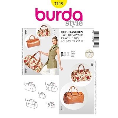 Reisetasche, Burda 7119