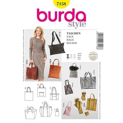 Einkaufstasche | Täschchen, Burda 7158