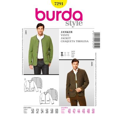 Janker, Burda 7291 | 50 - 60