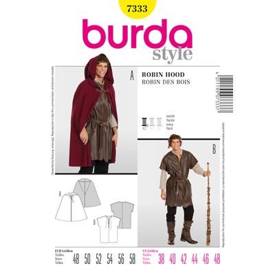 Robin Hood / Knecht, Burda 7333