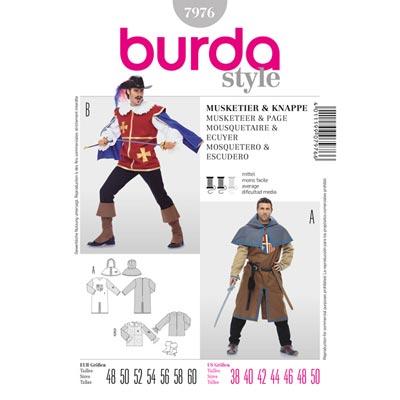 Musketier | Knappe, Burda 7976 | 48 - 60