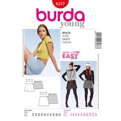 Rock, Burda 8237 | 32 - 50