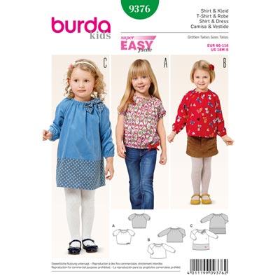 Shirt/Kleid, Burda 9376