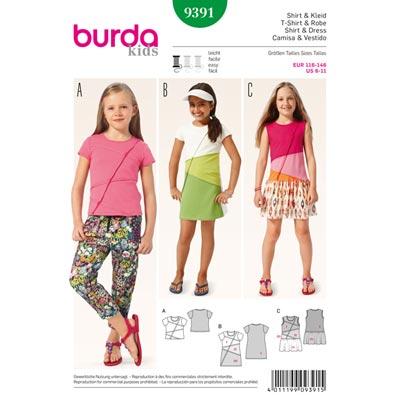 Shirt / Kleid, Burda 9391