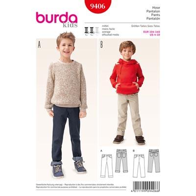 Hose, Burda 9406
