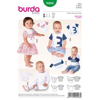 Shirt, Burda 9408