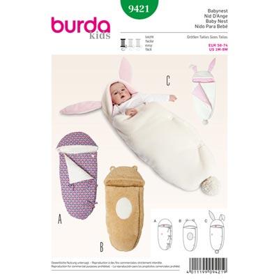 Babynest, Burda 9421